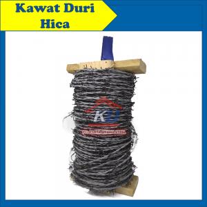 Kawat Duri Baja Harga Murah Satu Roll Panjang 100 Meter